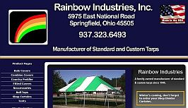 Rainbow Industries' website by Web-Rx Consulting