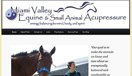Miami Valley Equine Acupressure's website by Web-Rx Consulting